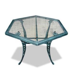 Mesa de Trillas tapa de Vidrio (Art. 3043)
