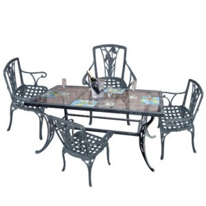 Juego de Lirios con mesa (Art. 3041)